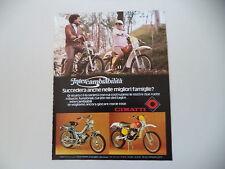 advertising Pubblicità 1977 MOTO CIMATTI KAIMAN 50/86