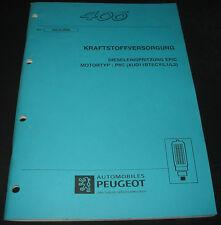 Werkstatthandbuch Peugeot 406 Dieseleinspritzung EPIC Motortyp P8C XUD11BTECY L1