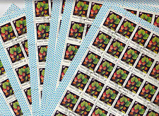 CCCP URSS 30 feuilles Flore baies sauvages Faus Murier   4k 1982