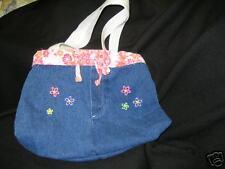 handbag purse denim skirt with buttons