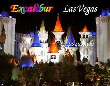 Las Vegas - EXCALIBUR - Travel Souvenir Magnet