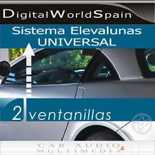 KIT COMPLETO ELEVALUNAS ELECTRICO UNIVERSAL 2 VENTANILLAS COCHE.ENVÍO GRATIS 24H