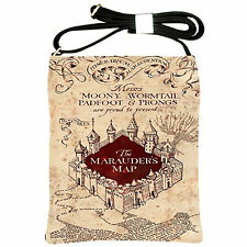 New Marauders Map HARRY POTTER Hogwart Maps Shoulder Sling Bag Purse Handbag