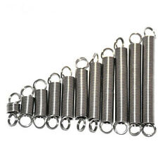 1.0mm Wire Diameter 6/8mm OD Extension Tension Spring Stainless Steel 20-60mm L
