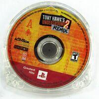 Tony Hawk's Underground 2: ReMix Sony PlayStation Portable 2005 PSP Disc Only