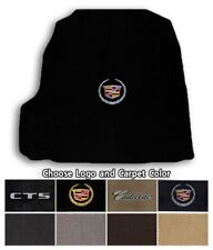 Cadillac CTS 1pc Classic Loop Carpet Trunk Mat-Choice of Carpet Color & Logo