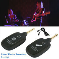 A8 20Hz-20kHz Wireless Audio Guitar Transmitter System-Good Quality Rechargeable