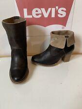 Levi's Smart Leather Boots Size UK 4 EU 37