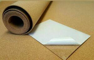 Cork Sheet Roll PINBOARD Self Adhesive 1mm, 2mm, 3mm Thick