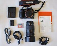 Sony Alpha DSLR A350 Spiegelreflex Digitalkamera Fotoapparat Camera Camcorder