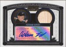 ADAM LIND 2007 Bowman Sterling Autograph Bat Rookie Toronto Blue Jays