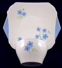 Blue Vintage Original Shelley Porcelain & China