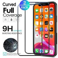 For iPhone 11 Pro Max,12 Pro Max Clear Shockproof HD Full Cover Screen Protector