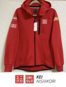 UNIQLO x Kei Nishikori Stretch sweatshirt hoodie (US:S / JP:M)
