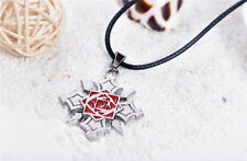 Vampire Knight Rose Logo Pendant Necklace Anime Cosplay Women Mens  New Gift