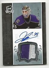 07-08 The Cup Jonathan Bernier Auto Jersey Patch Rookie Card RC #128 144/249