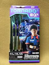 Harrows Tornado 2 Soft Tip Darts 80 Tungsten 19.5g 16801 W/