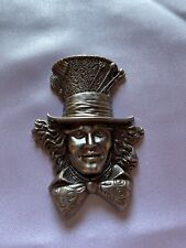 Alice in Wonderland Movie Mad Hatter Johnny Depp Pewter Image
