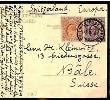 CEYLON Cover 1909 Superb *RAILWAY POST OFFICE* Postcard WORKING ELEPHANTS W529