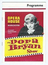 OPERA HOUSE MANCHESTER DORA BRYAN SHOW 1965 Programme