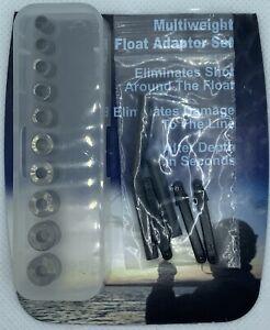 Coarse Carp Fishing float adaptor multi weight set NO SHOT system multiweight