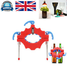 Adjustable Beer Glass Bottle Cutter Tool Craft Cutting Kit Jar Machine Red UK