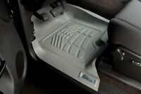 Front Sure-Fit Floor Mats: 2007-2011 Toyota Tundra CrewMax/Double/Standard Cab