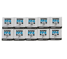 Ilford FP4 Plus ISO 125 Black & White 36 Exposure 35mm Film - 10 Pack