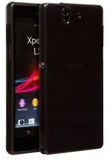 Étuis, housses et coques avec clip noirs en silicone, caoutchouc, gel pour téléphone mobile et assistant personnel (PDA)
