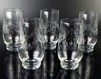 5 Trinkglas Kristallglas Trinkgläser Cocktailgläser Longdrink Glas graviert