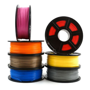 PLA 1.75mm 1kg 2.2lbs 3D Printer Filament Consumable Material For Creality Ended