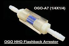 OGO Professional HHO Flashback Arrestor 1/4x1/4