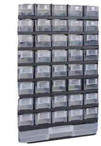 Tidyar41-Drawer Plastic Storage Hardware and Craft Cabinet Tool Box