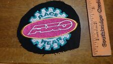 AXO MOTORCYCLE RACE WEAR  MOTORCYCLE BOOTS HELMETS LEATHER CHAPS PATCH  BX A #67