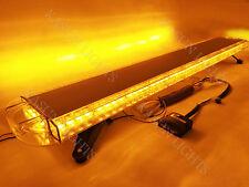 "51"" 96 LED LIGHT BAR EMERGENCY BEACON FLASH TRUCK TOW PLOW RESPONSE STROBE AMBER"