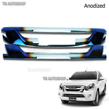 For Isuzu Holden D-Max Dmax 16 17 4WD Anodized Titanium Grille Front Line Cover