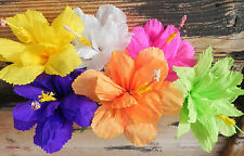 """Mexican Crepe Paper flowers , set  """"18 Hibiscus """""""