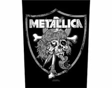 Metallica Raiders Skull Large Backpatch - New - Licensed Product