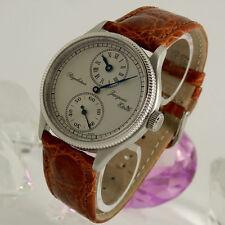 Mechanisch-(Handaufzug) Armbanduhren mit 12-Stunden-Zifferblatt und Gebürstet