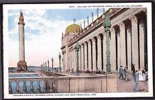 VINTAGE 1915 P.P.I.E EXPO EXPOSITION SAN FRANCISCO CALIFORNIA OLD LITHO POSTCARD