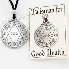 Talisman for GOOD HEALTH Healing Pendant Solomon Seal Vitality Life Force Amulet