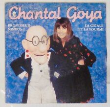 Chantal Goya 45 Tours Professeur Nimbus 1989