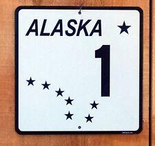 Alaska Alcan Highway 1 sign
