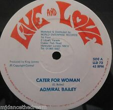 """L'amiral Bailey-Cater FOR WOMAN ~ 12"""" SINGLE"""