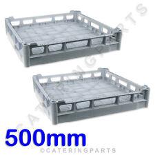 2X CLASSEQ / CLASSIC 500mm x 500mm CUP GLASS RACKS 500 DISH-WASHER BASKET 700GBP