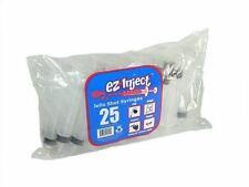 NEW - E-Z Inject 25 Pack - Jello Shot Syringes (Large 2.5oz) - FREE SHIPPING