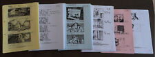 SC A-F Godric's Hollow Storyboard Harry Potter original prop production used