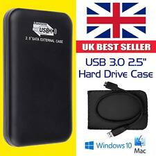 "New 2018 USB 3.0 HDD Caddy Case Drive Enclosure For 2.5"" SATA HDD / SSD UK Stock"