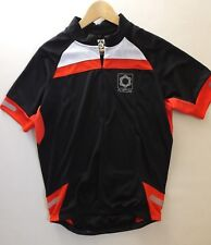 Mens MUDDY FOX MFX Short Sleeved Mountain Biking Shirt Top Size S Black Red NEW