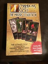 Champions of Golf The Masters Collection 1998 Factory Sealed Set w/ Tiger Woods